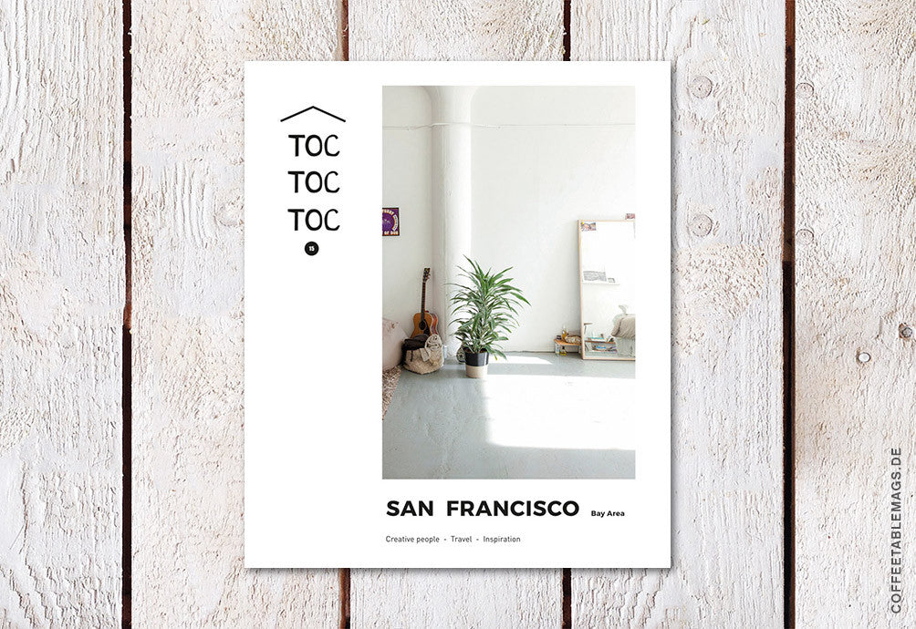 Toc Toc Toc – Issue 15: San Francisco – Cover