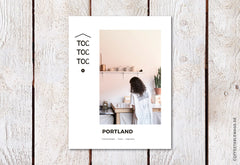 Toc Toc Toc – Issue 16: Portland – Cover