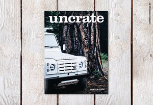 Uncrate Quarterly – Number 1 – Winter 2014 Edition – Cover