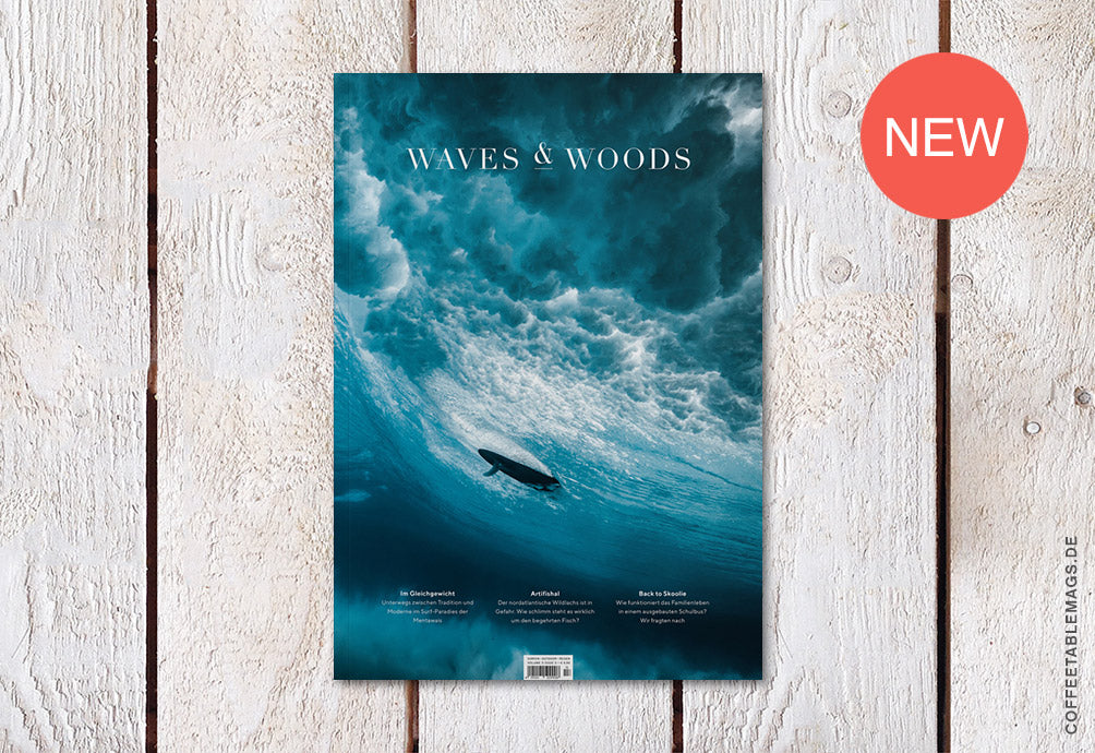 Waves & Woods – Issue 13 – Cover