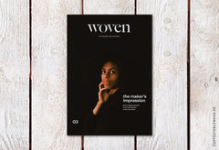 Woven Magazin – Issue 3: The Maker's Impression – Cover