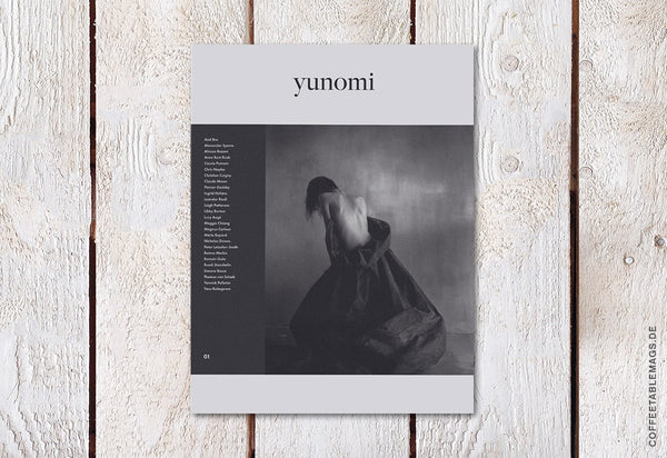 Yunomi Magazine – Volume 01 – Cover