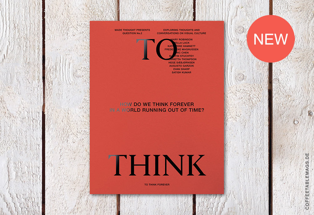 To Think Deeper – Question No. 02 – Cover