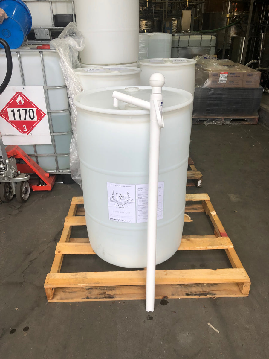 Fresh Sanitizer, 80% alcohol (55 gallon drum)