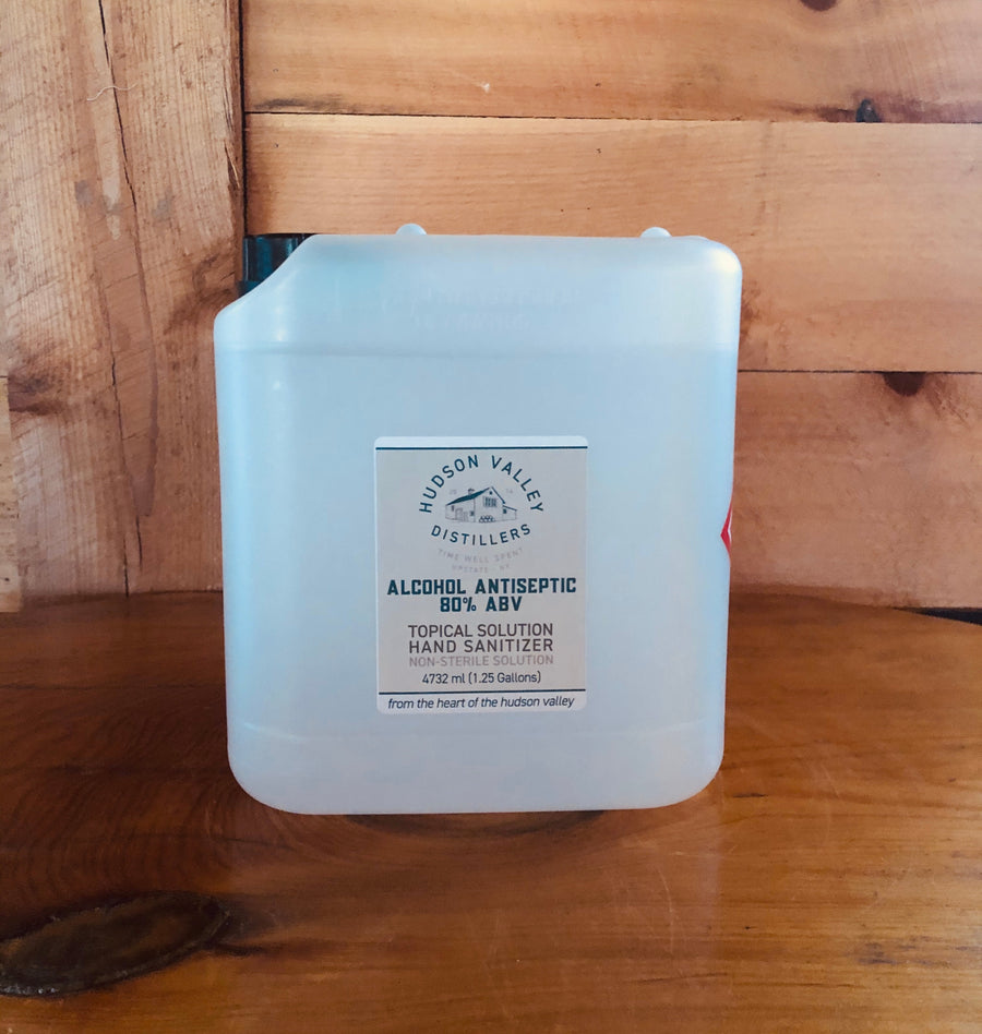 1.25 Gallon 80% Hand Sanitizer Jerrican - Pickup Only