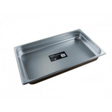 Chef Inox 18/10 Stainless Steel Gastronorm Pan - Size 1/1 - 3 Sizes & Lid available