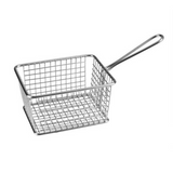 "Service basket – rectangle stainless steel ""athena"""