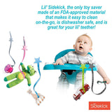 Lil' Sidekick - Multipurpose Tether & Teether - Pink