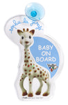 "Sophie la girafe Flashing ""Baby on Board"""