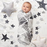 Bamboo Swaddles - Midnight 3-pack