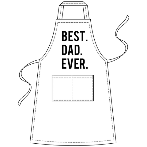 Best. Dad. Ever. Apron