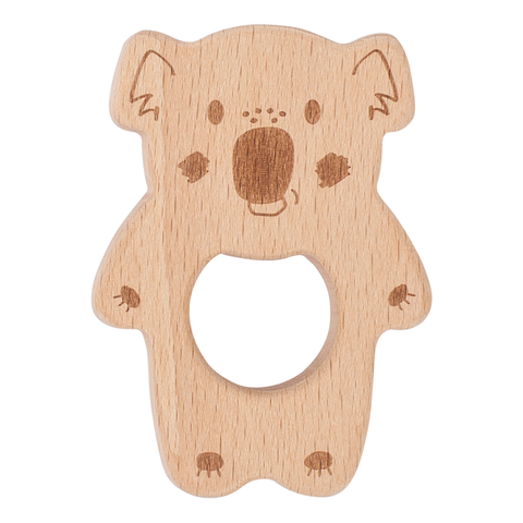 Banjo Kippin Natural Beechwood Teething Toy