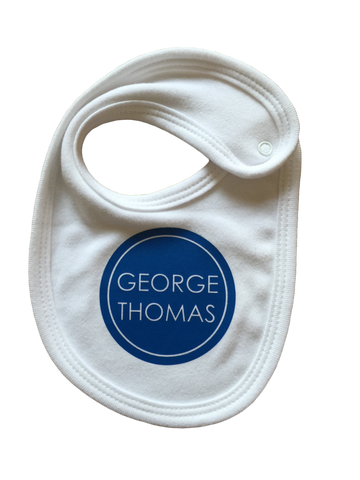 Personalised Bib - Circle
