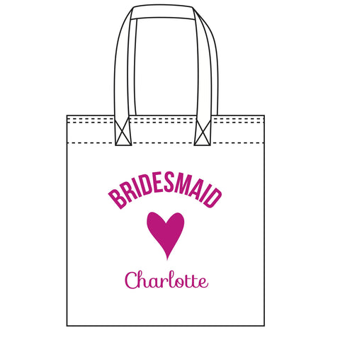 """Bridesmaid"" Tote Bag"