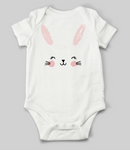 Cute Bunny Face Babygrow
