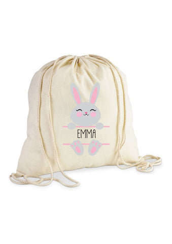 """Girls Easter"" Drawstring Bag"