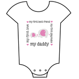 """My Daddy - Elephants"" Babygrow"