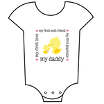 """My Daddy - Ducks"" Babygrow"
