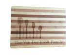 Two-Tone Bamboo Chopping Board - Personalised