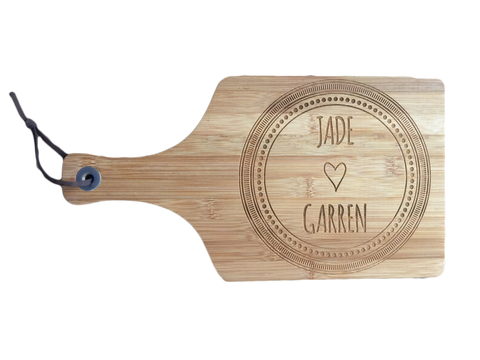 Bamboo Paddle Board - Personalised