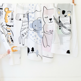 Kitty KippinTale™ Organic Cotton Story-Print Muslin Wrap