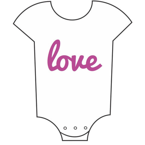 """Little Love"" Babygrow"