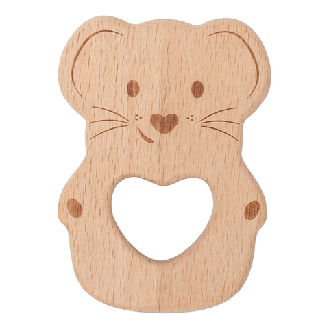 Luna Kippin Natural Beechwood Teething Toy