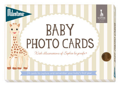 Baby Photo Cards - Sophie la girafe