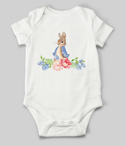 Miss Rabbit Babygrow