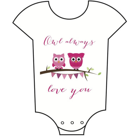"""Owl Always Love You"" Babygrow"