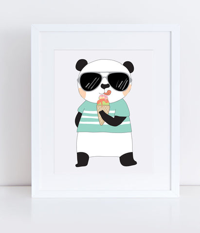 {Cool Kids} Pedro the Panda - Print