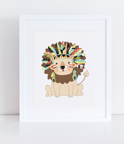 {Safari} Tau the Lion - Print