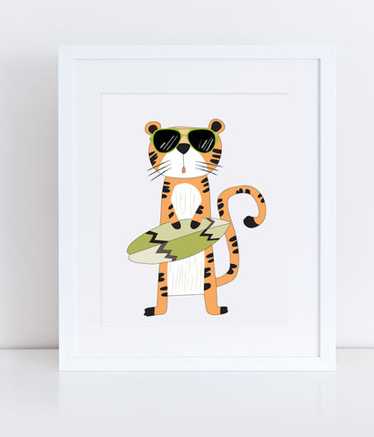 {Cool Kids} Tripp the Tiger - Print