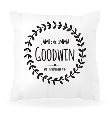 Wedding Cushion Cover