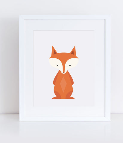 {Woodlands} Fox - Print