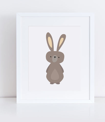 {Woodlands} Rabbit - Print