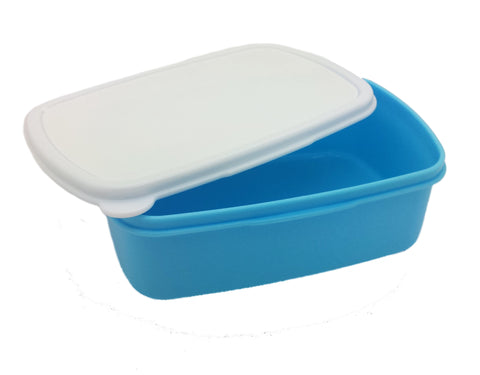 Blue Lunch Box - Personalised