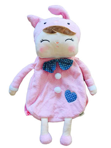 Soft Toy Backpack - Bunny