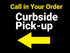 Curbside Pick-Up/Orders