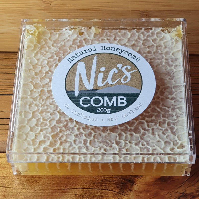 Nic's Gold Honeycomb 200g