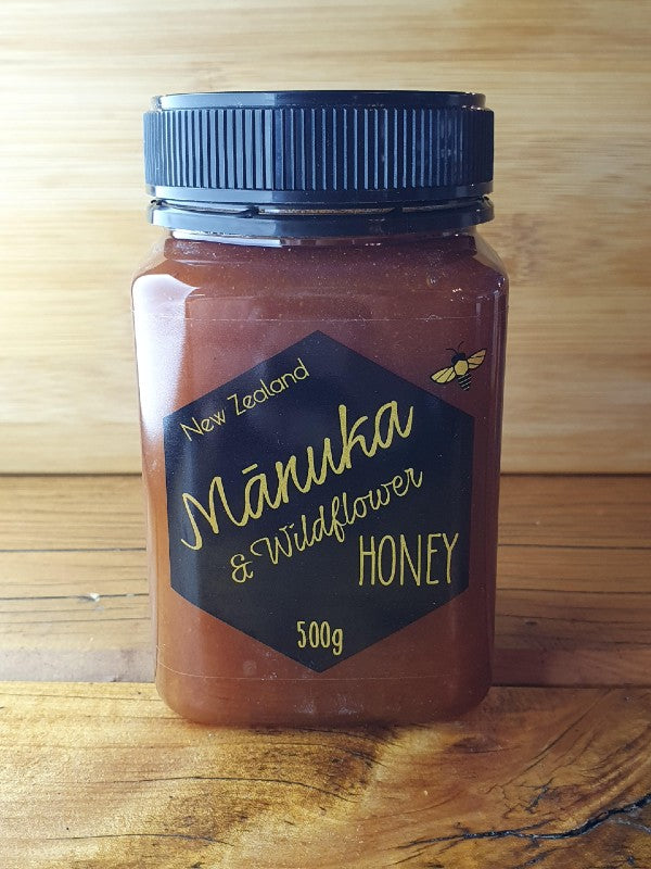 Manuka and Wildflower 500g (Bay of Islands blend)