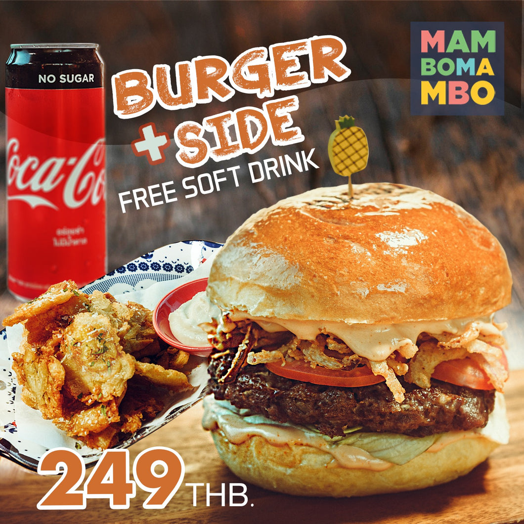 SET MENU BURGER (NORMAL SIZE)