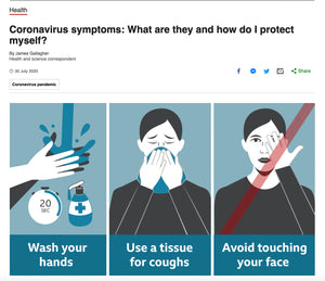 《BBC》新冠肺炎健康資訊專題 - What are they and how do I protect myself?