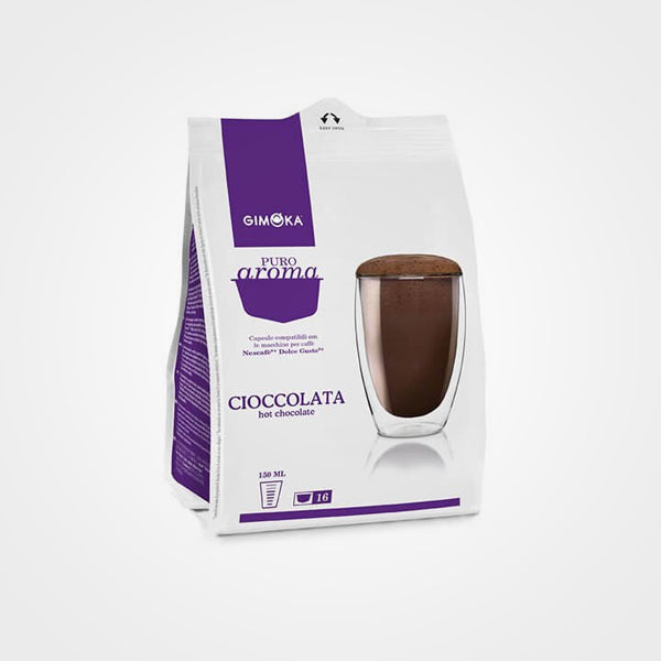 Chocolate Dolce Gusto compatible capsules 16 capsules