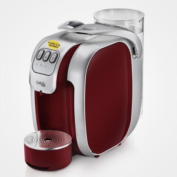 S07 Red Caffitaly capsule machine