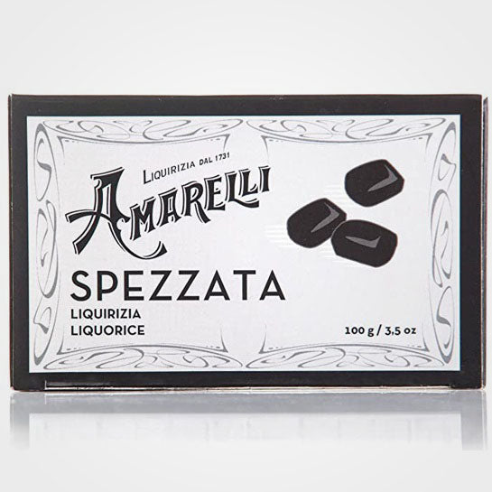 Pure Licorice Broken Black Amarelli 100 gr