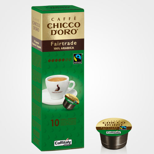 Caffè capsule Caffitaly Havelaar Fairtrade 100 % Arabica 10 cps
