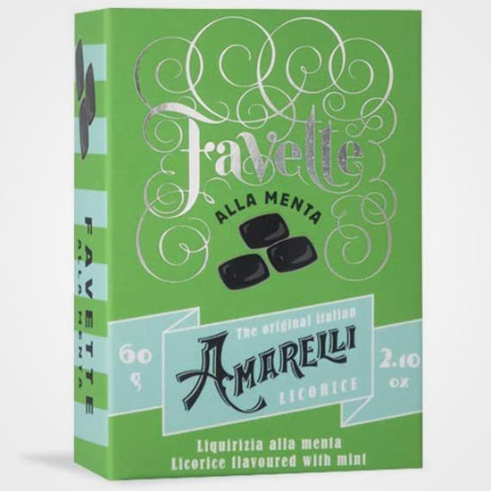 Mint licorice Favette Amarelli 60 gr