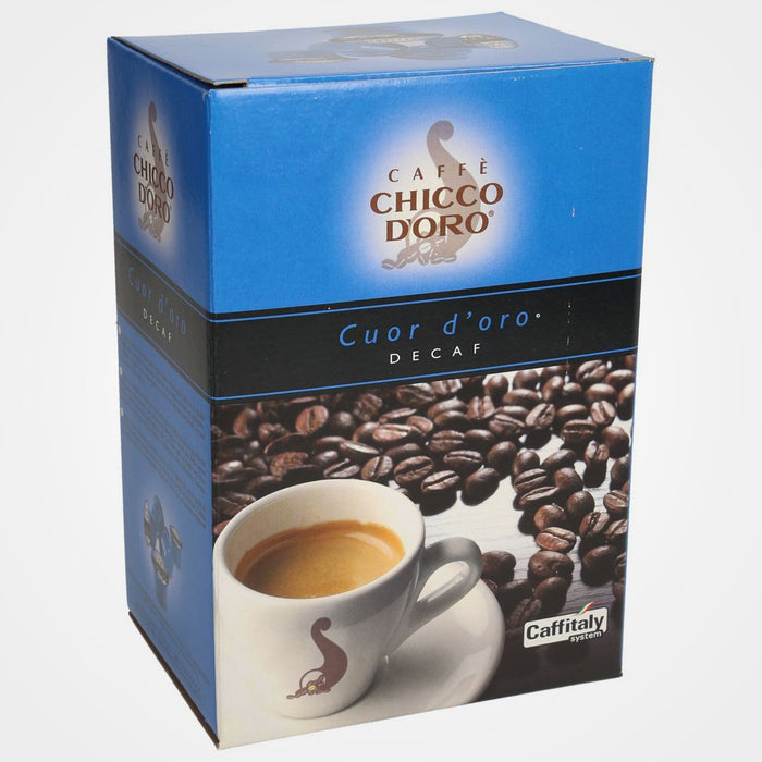 Coffee capsule Caffitaly Coffee Decaffeinated Cuor d'oro 40 cps