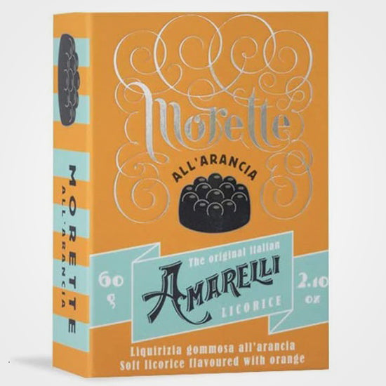 Licorice with orange Morette Amarelli 60 gr